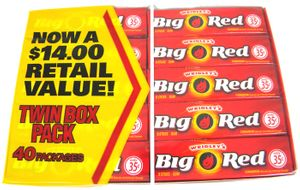 Wrigley's Chewing Gum - Big Red