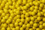 Yellow Mini Candy Balls 2lb Bag Sixlets