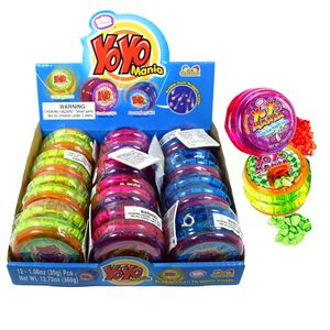 YO YO Mania Toy With Gum 12 Count