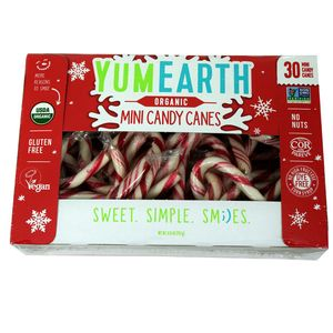 YumEarth Organic Candy Canes Mini 30 Count