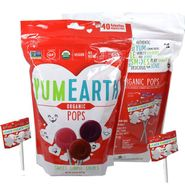 YumEarth Organic Valentine's Day Lollipops 40 Count