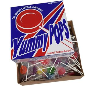 Yummy Pops 104 Count Box