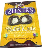 Zitner's  Butter Krak Eggs 8 Count (Unwrapped)