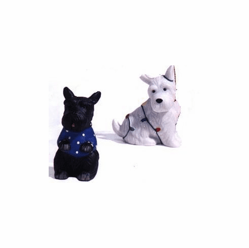 !!CLEARANCE!!!Scottie Dogs Salt & Pepper Set