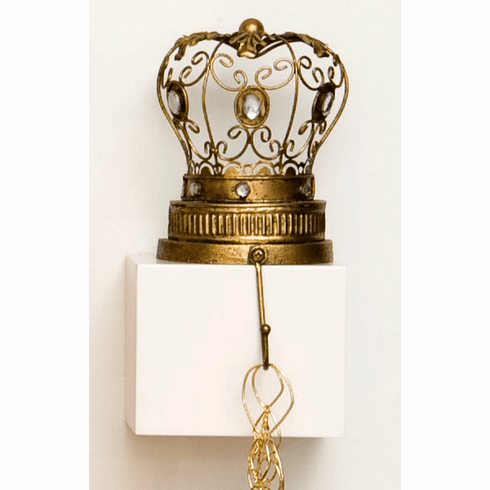 Crown Hook Shelf Sitter w/Hook - A True Statement Piece!