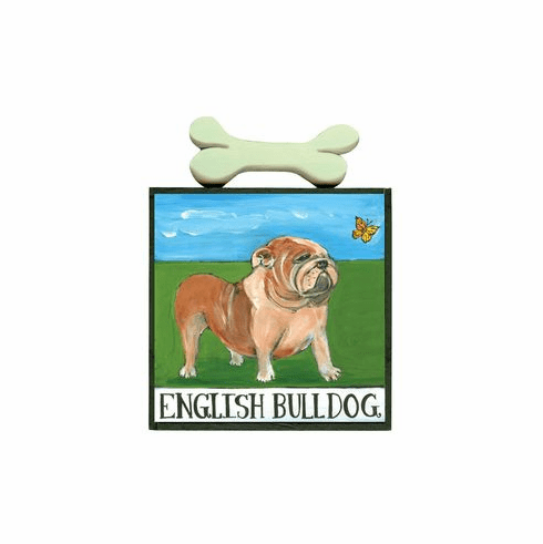 English Bulldog by Nancy Thomas