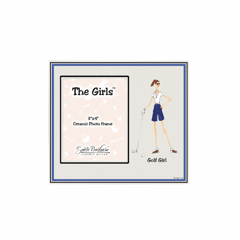 Golf Girl Picture Frame
