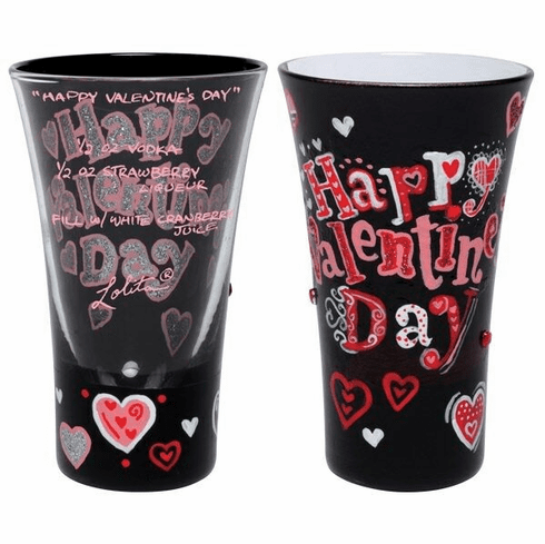 Happy Valentine's Day Shot Glass