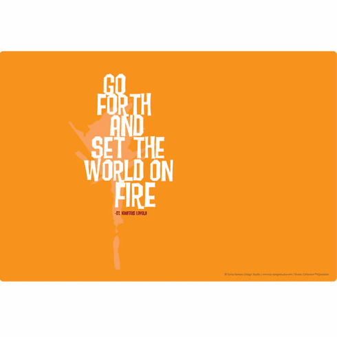 Laptop Skins - Set the World on Fire