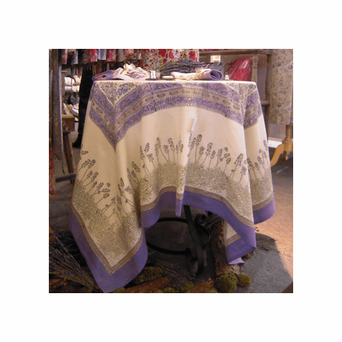 Lavender French Linen Table Cloths