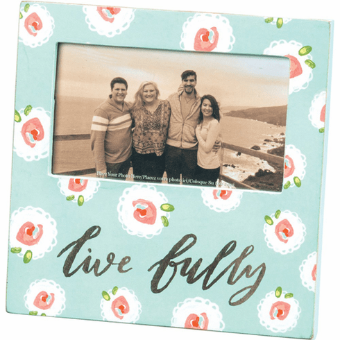 Live Fully Picture Frame