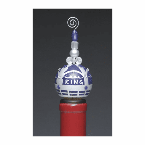 Lolita Hand-Painted Wine Stopper - King
