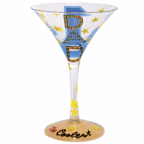 Lolita Martini Glass - #1 Dad Martini Glass