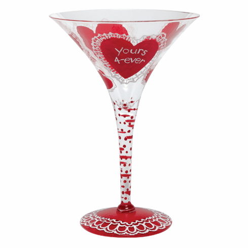 Lolita Martini Glass Valentine 2010 Design - Homemade Valentine Martini Glass