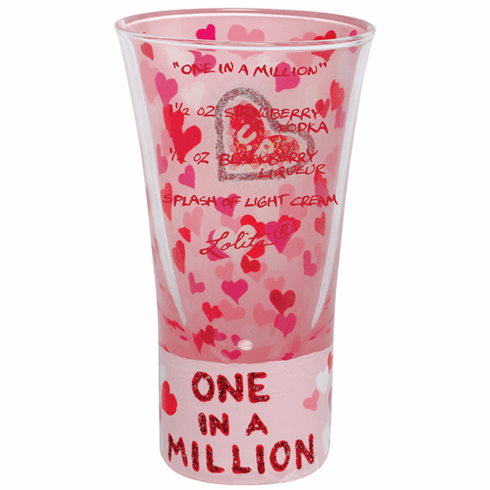 Lolita Party Shots - One in A Million Shot Glass