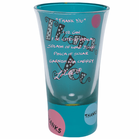 Lolita Party Shots - Thank You Shot Glass