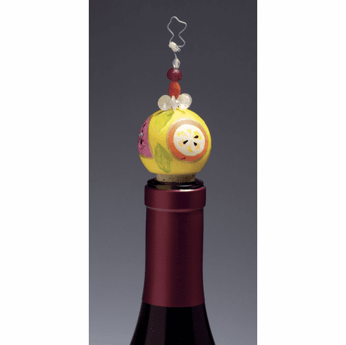 Lolita Sangria Hand-Painted Wine Stopper