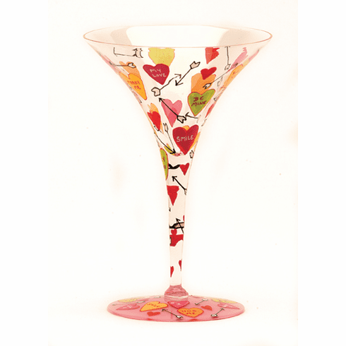 Love Martini Glass by Lolita
