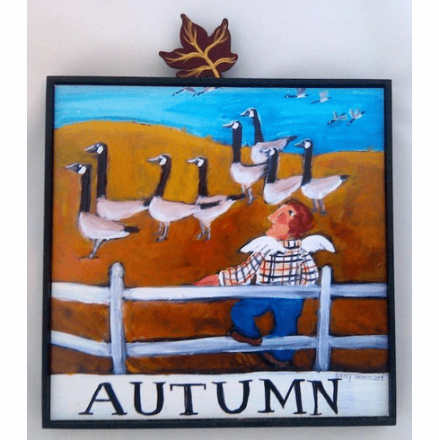 Nancy Thomas Autumn Geese