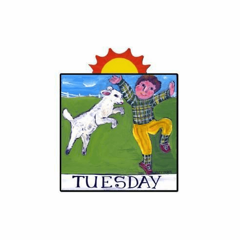 Nancy Thomas Days of the Week, Children's Series - Tuesday