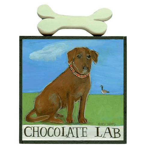 Nancy Thomas Dog Series - Chocolate Lab