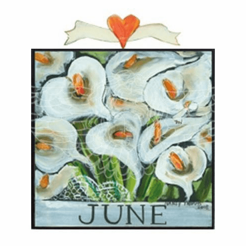 Nancy Thomas Floral Calendar Series - June Lilies