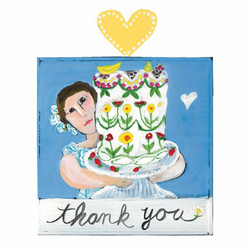 New Thank You Art Plaques