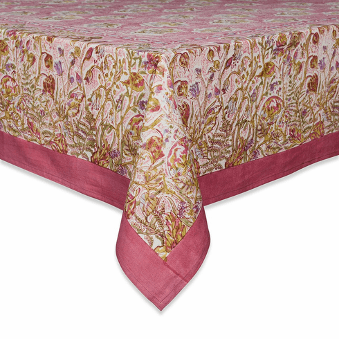 Petite Fleur Tablecloth in Pink