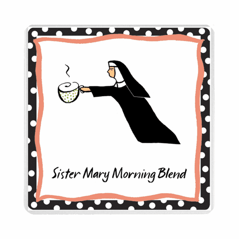 Sister Mary Morning Blend Set of Two Magnets
