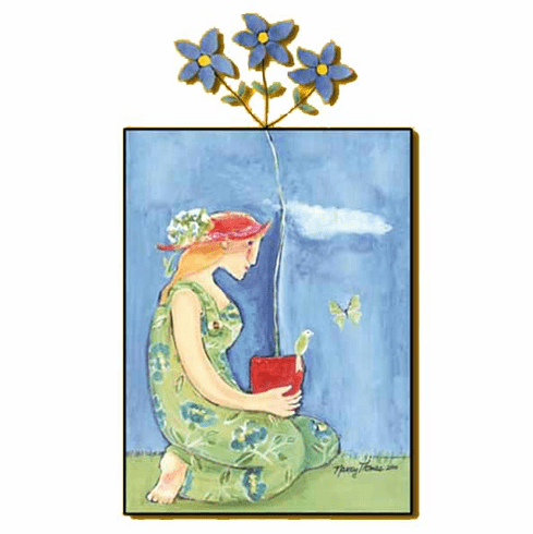 Spring's Moment Art Plaque