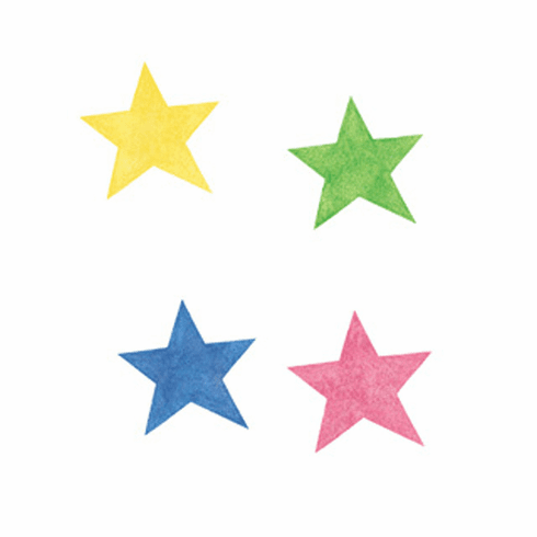 Stars Wallies Pre-Pasted Cut-Outs