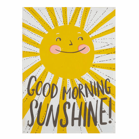 Good Morning Sunshine Kitchen Towel