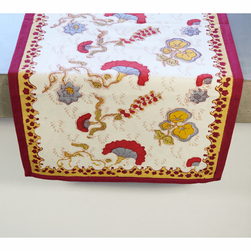 Table Runner -Gypsy Mutli-Color Runner from Couleur Nature