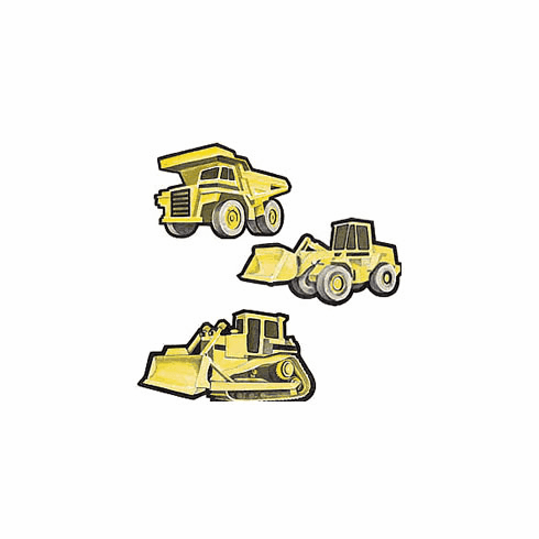 Heavy Trucks Wallies Wallpaper Cutouts