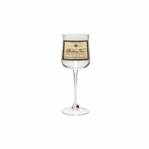 Wine Glass - Birthday Vino