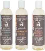 Bath & Body Oils Scented Oils by Soothing Touch