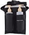 Double All-N-One Holster Black w/jar bottle & pump