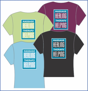 Healing and Helping Massage V-Neck
