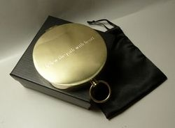 Custom Engraved POCKET Compass Gifts