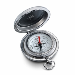 Dalvey Pocket Compass Gifts With Optional Engraving