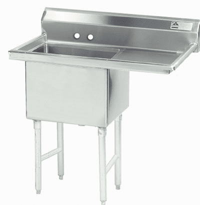 1 Compartment S.S. Sinks W/ Drainboard