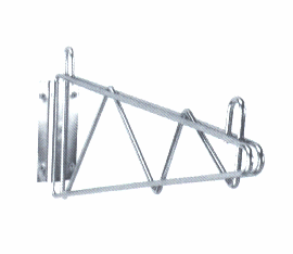"14"" Single - Wall shelf Mounting Brackets"