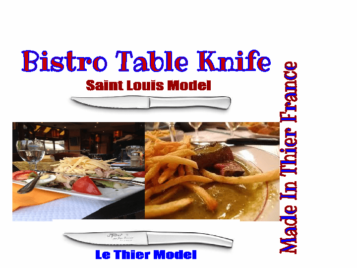 Bistro Steak Frits Selection