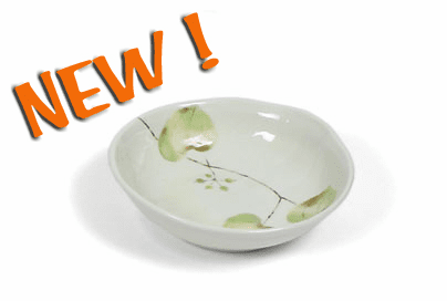 "Bowl 6.75"" Spring Leaves"
