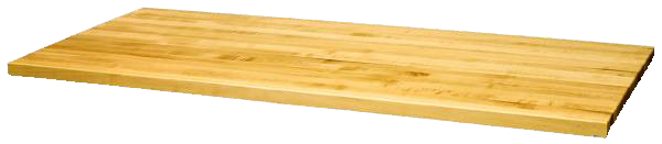 "Butcher Block Style G Work Surfaces 1.75"" Thick"