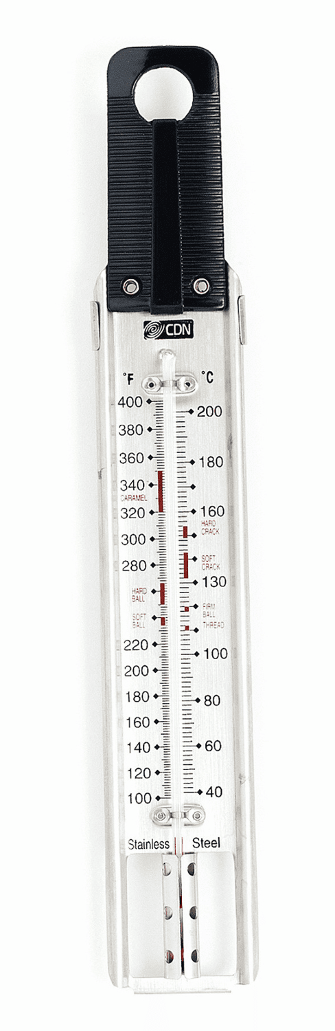 Candy & Deep Fry Ruler Thermometer