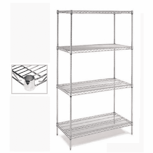 Chrome Wire Shelving - C24x60