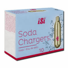 CO CHARGES SODA 10 pack