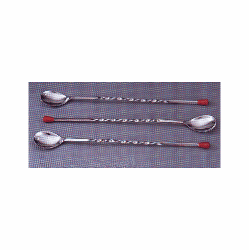 Cocktail Spoon w/Twisted End