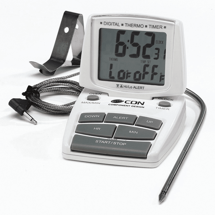 Combo Probe - Thermometer, Timer & Clock
